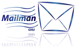 Mailman mail list server