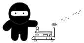 Morse Code Ninja